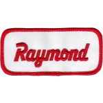 Raymond Patch (Red and White)