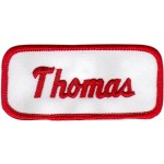 Thomas Patch (Red and White)