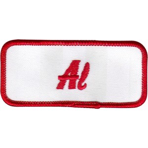 Al Patch (Red and White)