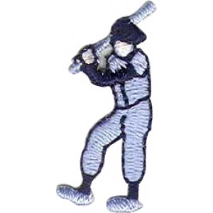 Baseball Player Light Blue