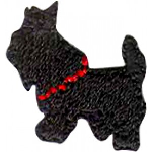 DOG BLACK AND RED