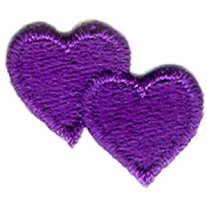 Hearts Purple