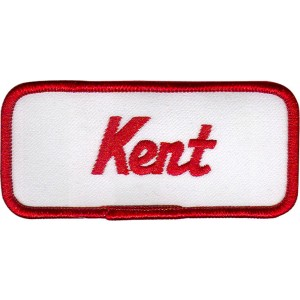 Kent Patch (Red and White)