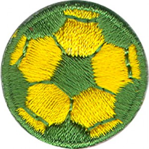 Soccer Ball Green and Yellow