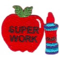 "Apple W/ Glue ""Super Work"""