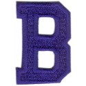 B Applique Royal Blue