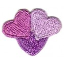 Hearts Pink and Purple