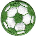 Soccer Ball Green and White
