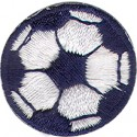 Soccer Ball Navy and Blue