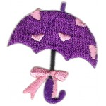 Umbrella with Pink Hearts