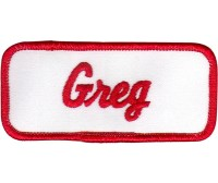Greg Patch (Red and White)