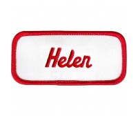 Helen Patch (Red and White)
