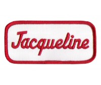 Jacqueline Patch (Red and White)