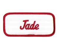 Jade Patch (Red and White)