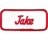 Jake Patch (Red and White)