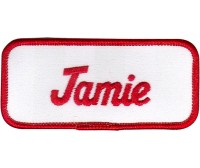 Jamie Patch (Red and White)