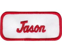 Jason Patch (Red and White)