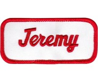 Jeremy Patch (Red and White)