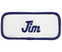 Jim Patch (Navy and White)