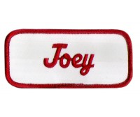 Joey Patch (Red and White)