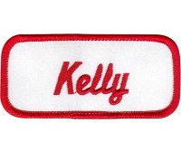 Kelly Patch (Red and White)