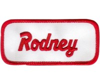 Rodney Patch (Red and White)