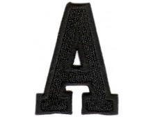 A Applique Black