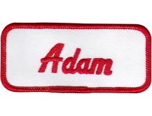 Adam Patch (Red and White)