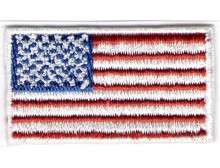 American Flag Patch Mini