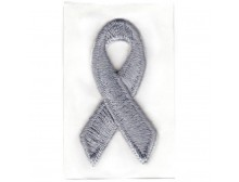 Gray Awareness Ribbon