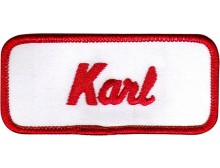 Karl Patch (Red and White)
