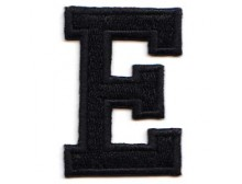 E Applique Black