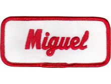 Miguel Patch (Red and White)
