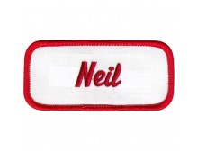 Neil Patch (Red and White)
