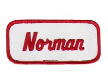 Norman Patch (Red and White)