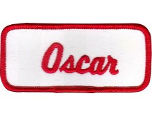 Oscar Patch (Red and White)