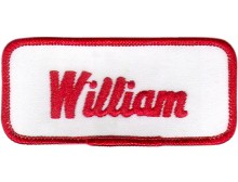 William Patch (Red and White)