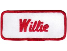 Willie Patch (Red and White)