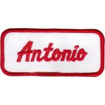 Antonio Patch (Red and White)