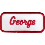 George Patch (Red and White)