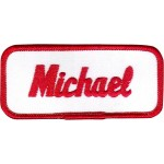 Michael Patch (Red and White)